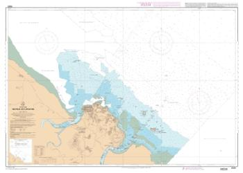 Abords de Cayenne nautical chart by SHOM