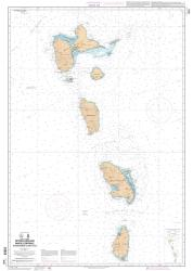 De Montserrat a Salnt-Lucia nautical chart by SHOM