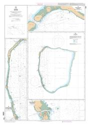 Apataki nautical chart by SHOM
