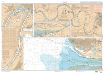 La Seine - Du Havre a Rouen nautical chart by SHOM