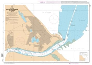 Acces au fleuve Kourou - Port de Pariacabo nautical chart by SHOM