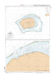 Ile Tubual et mouillages nautical chart by SHOM