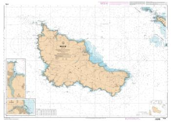 Belle-lle nautical chart by SHOM