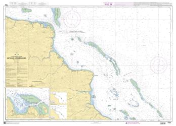 Abords de Touho et du Cap Bayes nautical chart by SHOM