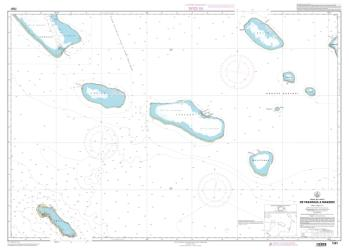 De Fakarava a Makemo nautical chart by SHOM