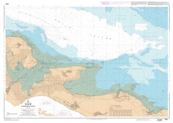 Ile de Re - Du Fier d'Ars a la Flotte nautical chart by SHOM