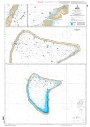 Aratika nautical chart by SHOM