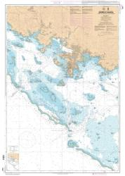 Abords de Noumea - Passes de Boulari et de Dumbea nautical chart by SHOM