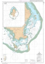 Iles Wallis nautical chart by SHOM