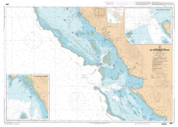 De Paagoumene a Ouaco nautical chart by SHOM