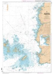 De la Pointe de Saint-Mathieu au phare du Four - Chenal du Four nautical chart by SHOM