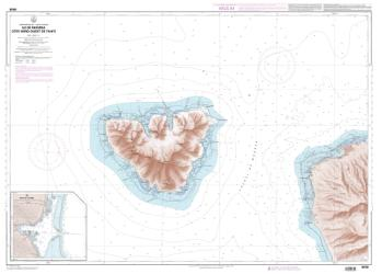 Baie de Vaiare nautical chart by SHOM