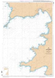 Golfe d'Ajaccio nautical chart by SHOM