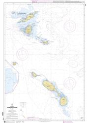 D'Anguilla a Nevis nautical chart by SHOM