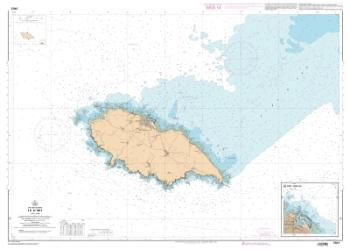 Ile d'Yeu nautical chart by SHOM