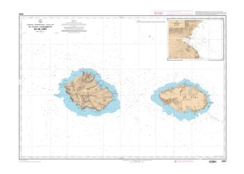 Ile de la Possession, ile de l'Est nautical chart by SHOM