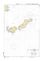 Iles de Port-Cros et du Levant (Iles d'Hyeres) nautical chart by SHOM