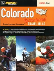 Colorado, Recreational Travel Atlas by Kappa Map Group