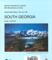South Georgia (12A and 12B) by British Antarctic Survey