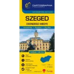 Szeged, Hungary by Cartographia