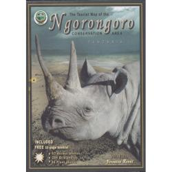 Ngorongoro Conservation Area Tourist Map by Veronica Roodt
