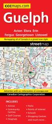 Guelph Road Map by Canadian Cartographics Corporation