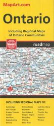 Ontario Road Map by Canadian Cartographics Corporation