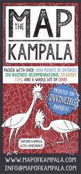 The Kampala Map by Kigali Guides Ltd.