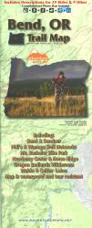 Bend, Oregon, Trail Map by Adventure Maps