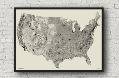 "All Roads Poster 26"" X 38"" by"