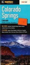 Colorado Springs, Colorado by Kappa Map Group