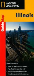 Illinois GuideMap by National Geographic Maps