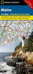 Maine GuideMap by National Geographic Maps