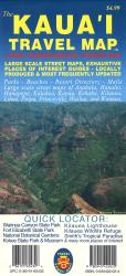 The Kaua'i Travel Map by Phears Hawaii Maps