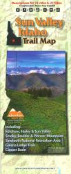 Sun Valley, Idaho, Trail Map by Adventure Maps