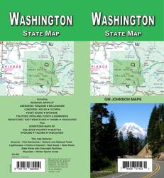 Washington State Map by GM Johnson