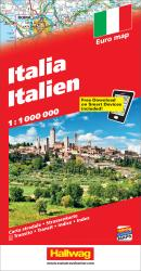 Italy with Distoguide by Hallwag
