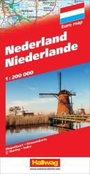 Netherlands with Distoguide by Hallwag