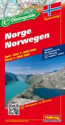 Norway with Distoguide by Hallwag