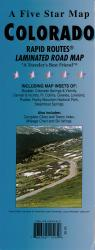 Colorado Rapid Routes by Five Star Maps, Inc.