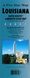 Louisiana Rapid Routes by Five Star Maps, Inc.