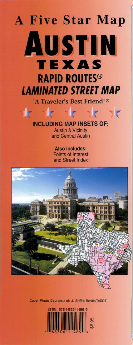 Austin texas rapid routes by five star maps inc sciox Gallery