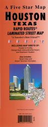 Houston, Texas Rapid Routes by Five Star Maps, Inc.