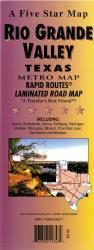 Rio Grande Valley Rapid Routes by Five Star Maps, Inc.