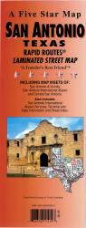 San Antonio, Texas Rapid Routes by Five Star Maps, Inc.