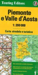 Piemonte and Valle d'Aosta, Italy by Touring Club Italiano