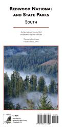 Redwood National and State Parks, South, waterproof by Redwood Hikes Press
