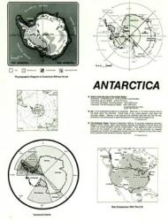 Antarctica, laminated, 22'' x 17'' by ODT, Inc.