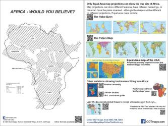 "Africa - Would You Believe? 6""x9"" postcards in a 25 pack by ODT, Inc."