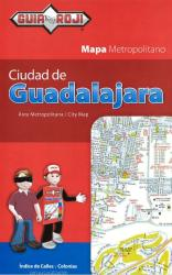 Guadalajara, Mexico, Tourist Map by Guia Roji